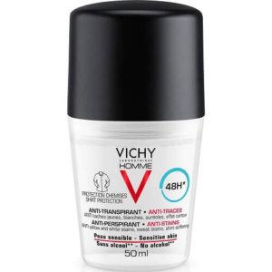 Vichy Homme Deodorant AntiTranspirante 48h Roll-On 50ml