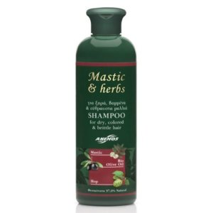 Anemos Mastic & Herbs Shampoo For Dry Colored & Brittle Hair 300ml