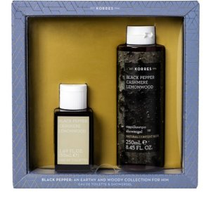 Korres Black Pepper: An Earthy and Woody Collection For Him