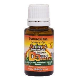 Nature's Plus Animal Parade Vitamin D3 Liquid Drops 10ml