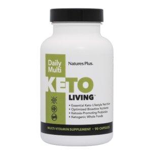 Nature's Plus Keto Living Daily Multi 90v.caps