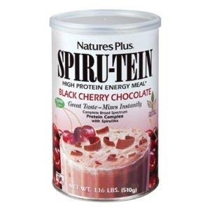 Nature's Plus Spiru-Tein Shake Black Cherry Chocolate 510gr