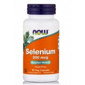 NowFoods Selenium 200mg 90v.caps
