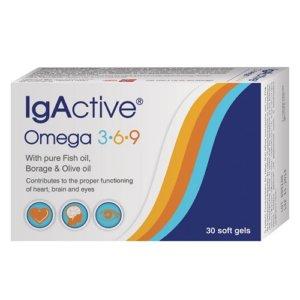IgActive Omega 3-6-9 30soft caps