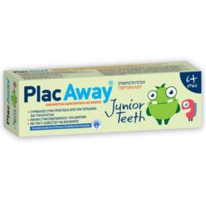 Plac Away Junior Teeth Orange 6+years 50ml