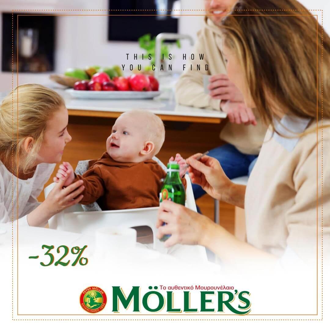 Μουρουνέλαιο Möller's για όλη την Οικογένεια